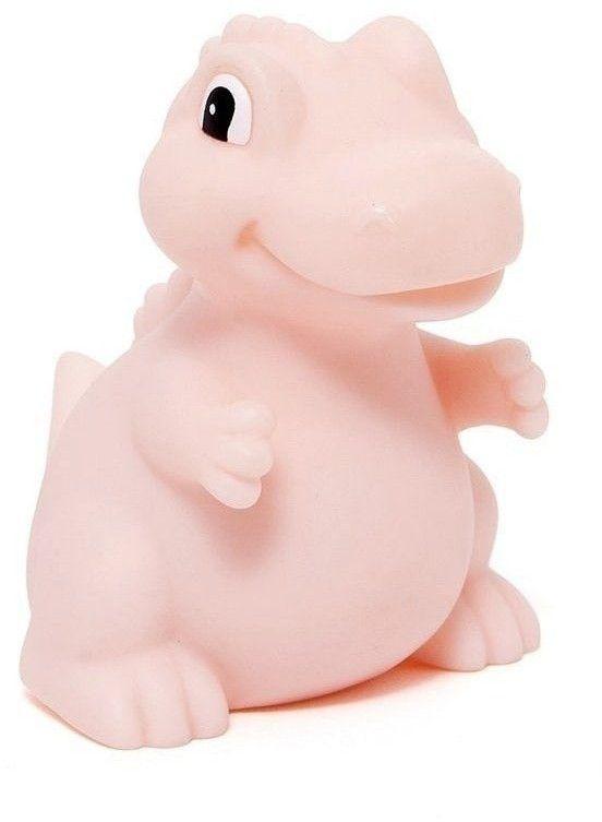 Petit Monkey - Miękka Pastelowa Lampka Nocna Led t - Rex Różowy