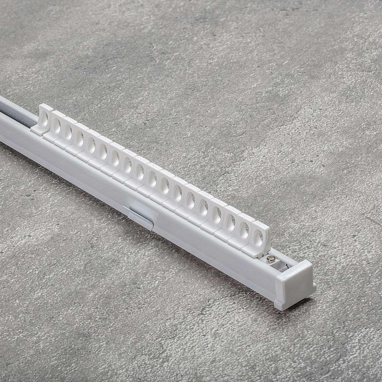 Komplet- szyna przysufitowa aluminiowa TS pojedyncza 180cm