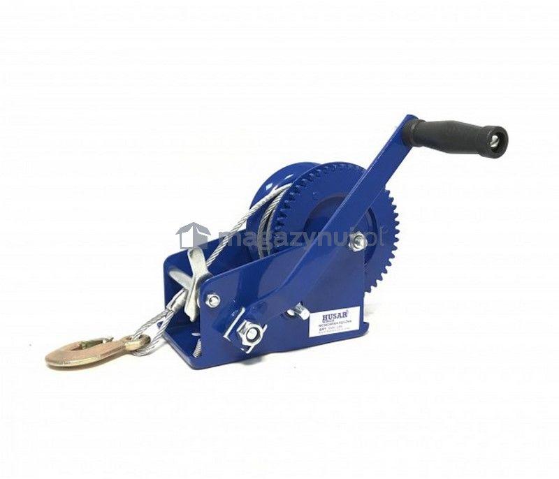 Wyciągarka ręczna BSTR 3500 Lbs (lina stalowa 10 m, uciąg 1578 kg)