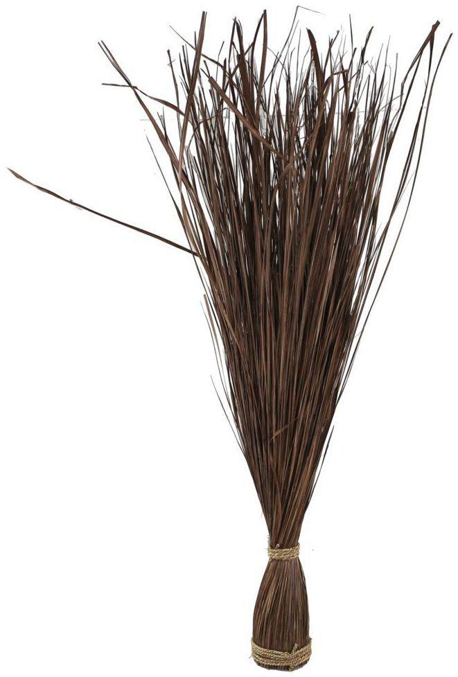 Wiązka trawy naturalnej 110 x 10 cm brązowa