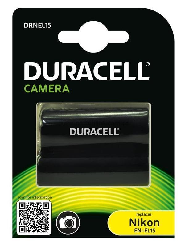 Duracell DRNEL15 - akumulator / zamiennik EN-EL15 do Nikon / 1400mAh Duracell DRNEL15