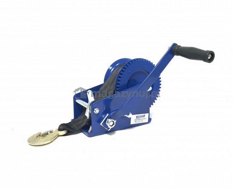 Wyciągarka ręczna BSTR 3500 Lbs (pas 10 m, uciąg 1578 kg)