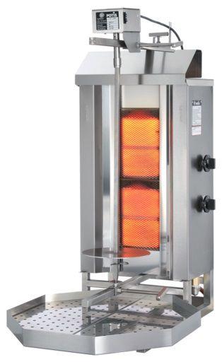 Gyros (kebab) gazowy - do 30 kg POTIS GD-2