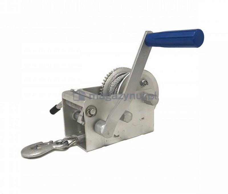 Wyciągarka ręczna BSTRS 3300 Lbs (lina stalowa 8 m, uciąg 1500 kg)