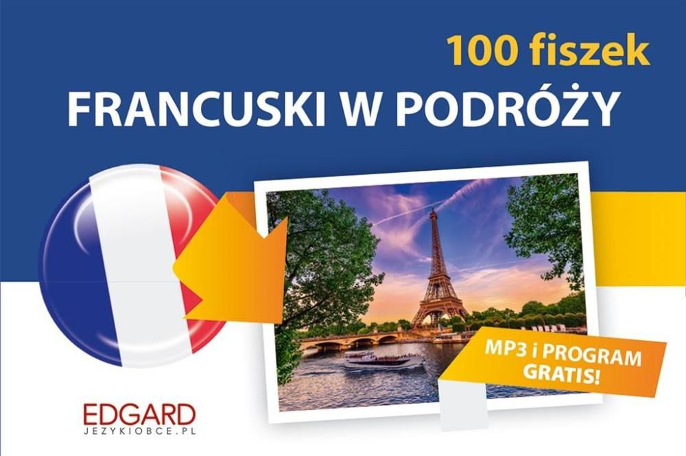 Francuski. 100 Fiszek. W podróży - praca zbiorowa