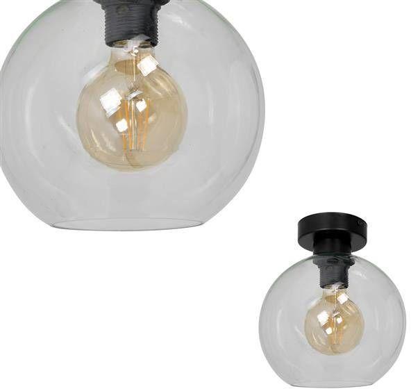 Nowoczesna lampa sufitowa plafon SOFIA CLEAR MLP6573