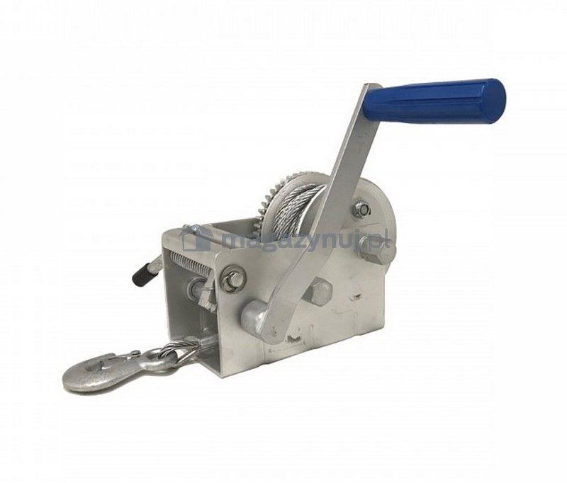 Wyciągarka ręczna BSTRS 4500 Lbs (lina stalowa 8 m, uciąg 2000 kg)