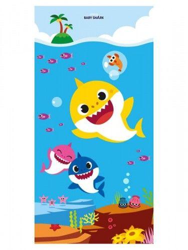 Ręcznik bawełniany 70x140 Baby Shark