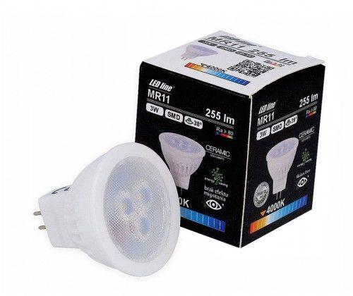 Żarówka LED LEDline MR11 3W 12V 38  SMD biała dzienna