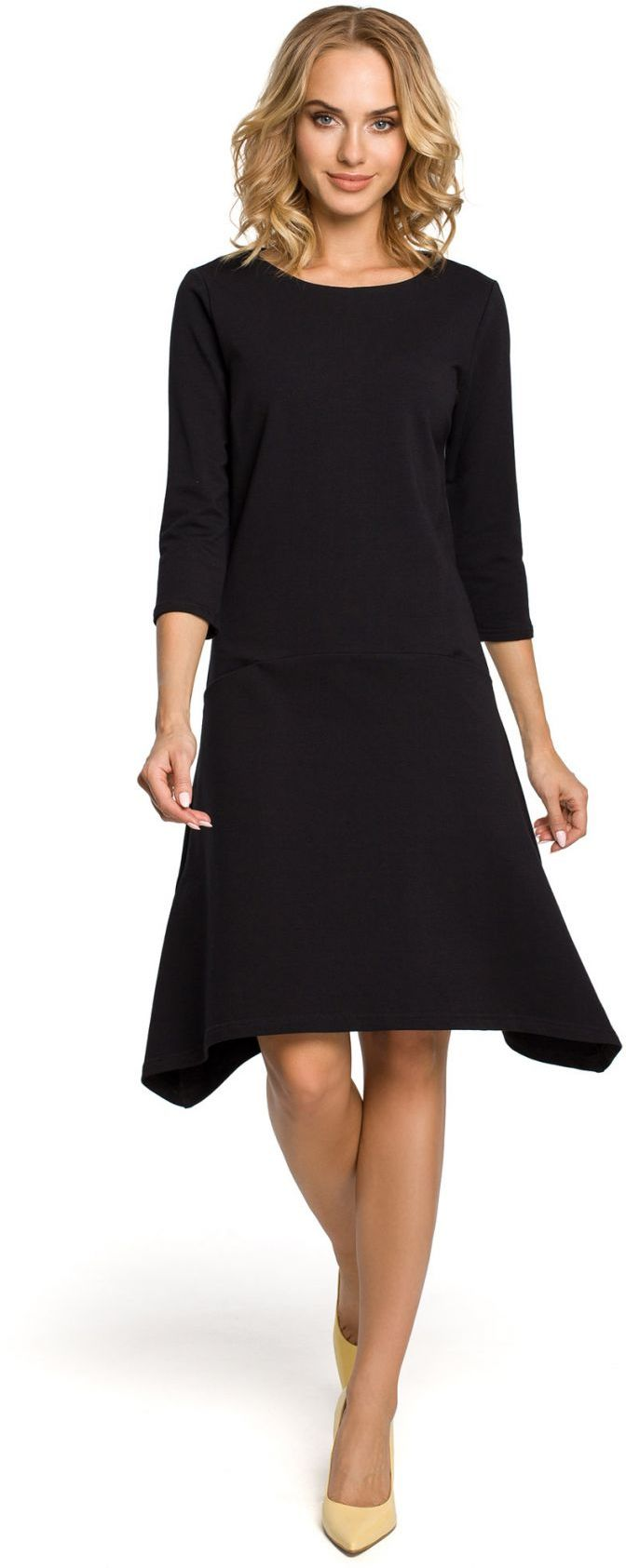 M328 Sukienka czarna