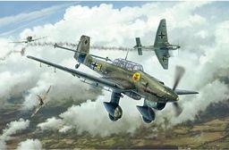 Italeri 2807S 1:48 Junkers JU-87B Stuka Bat.o.Brit, modelarstwo, zestaw do budowy modeli, budowy modeli stojących, majsterkowanie, klejenie, zestaw plastikowy, wierny szczegółom