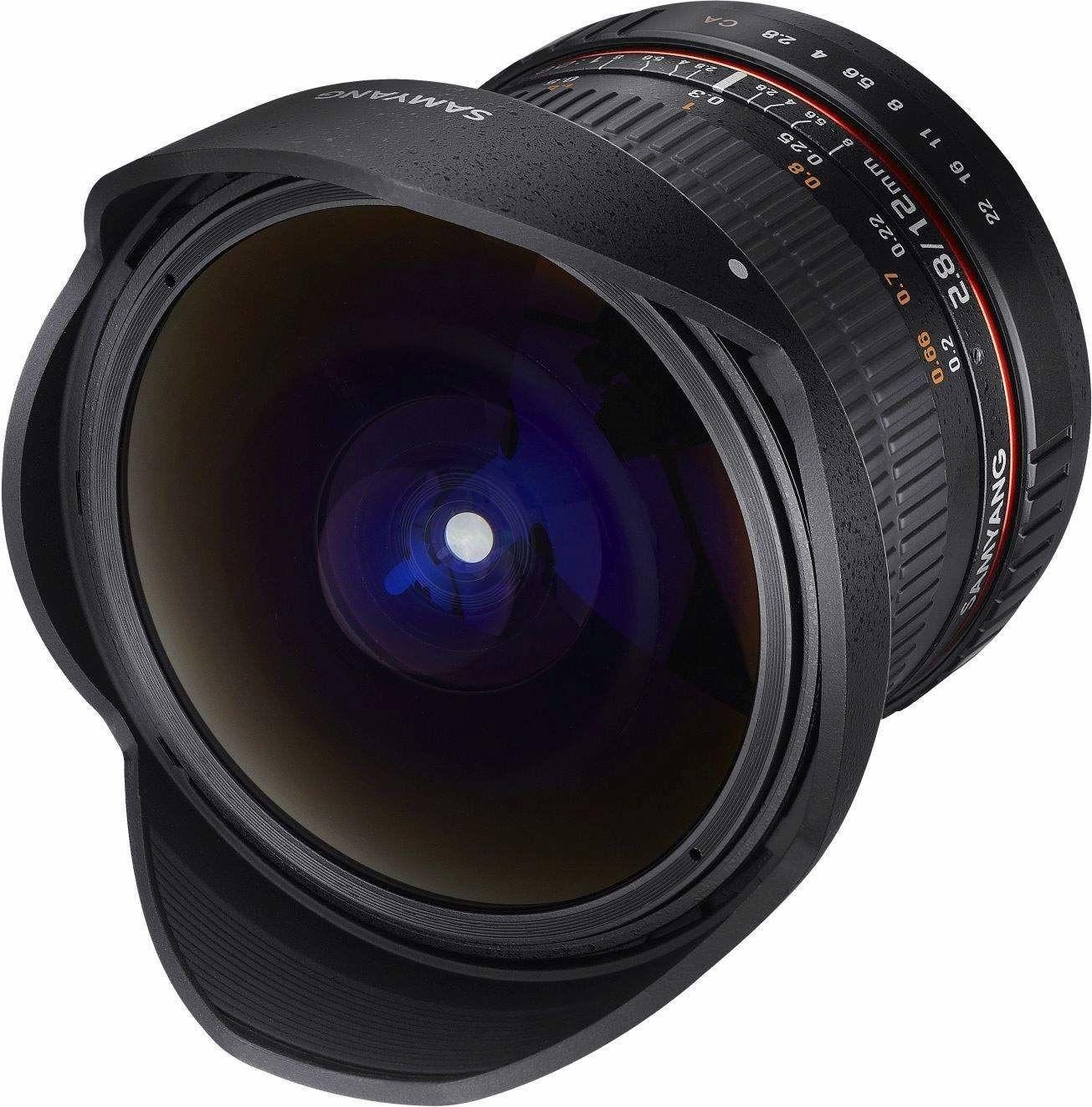 Samyang 12 mm F2.8 rybie oko ręczna soczewka ostrości do Sony-E