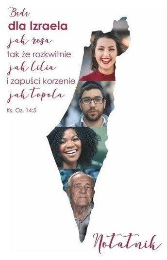Notatnik B6 Będę dla Izraela jak rosa - Sylwia Tomczyk