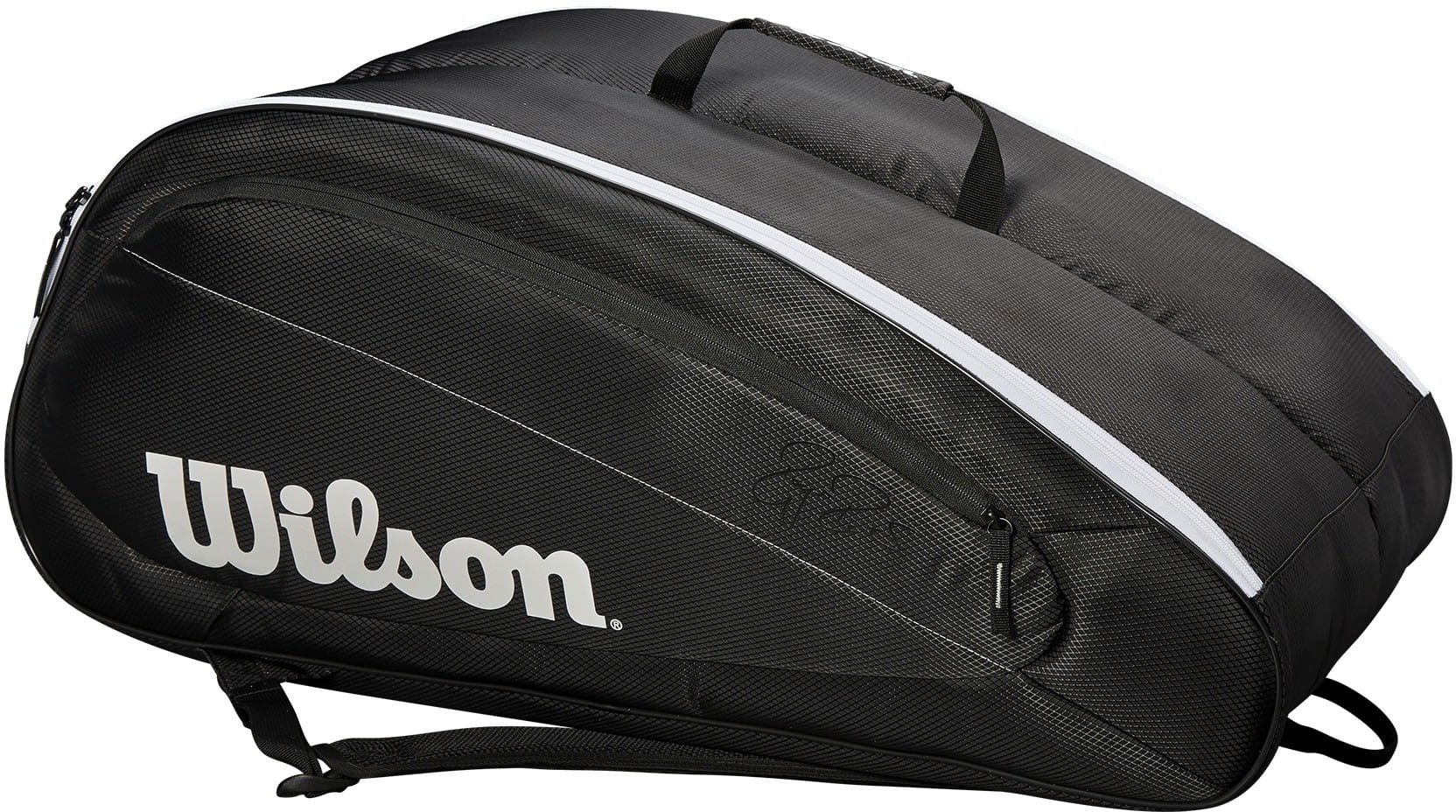 Wilson Fed Team 12 pack - black/white