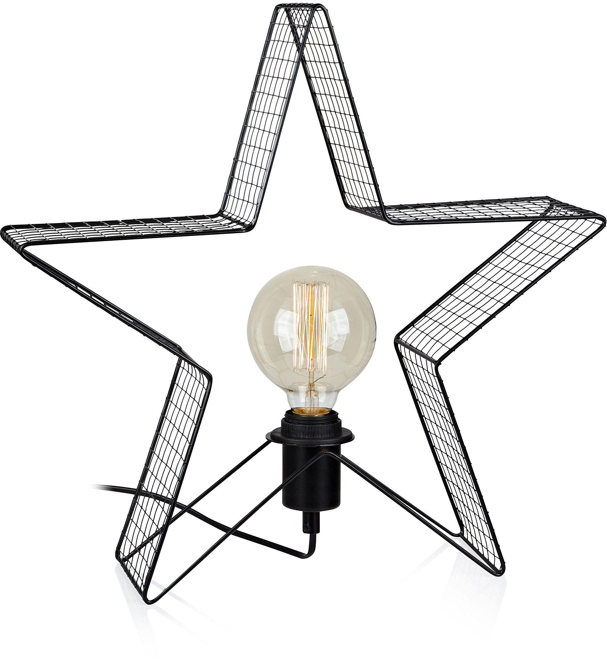 Markslöjd Lampa stołowa, metal, E27, czarna, 42,5 x 10,5 x 40,5 cm
