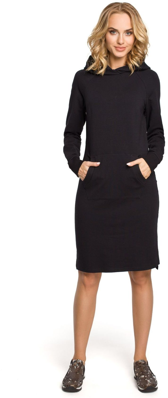 M329 Sukienka czarna
