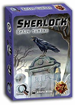 GM Games  Sherlock: Pomiędzy grabkami edukacyjnymi, pomarańczowy (GDM Games GDM2094)
