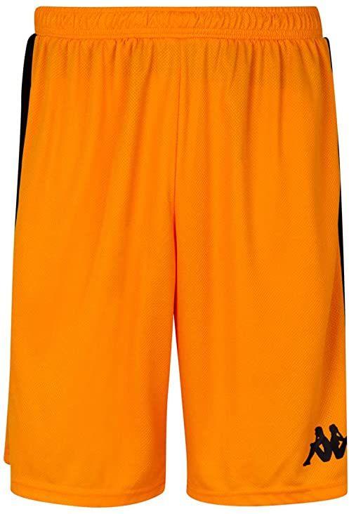 Kappa Caluso spodnie do koszykówki, uniseks dla dorosłych, S pomarańczowe
