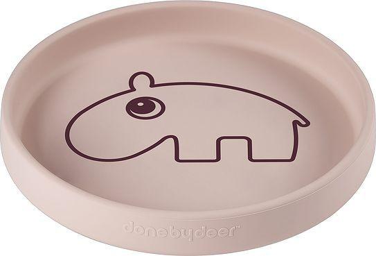 Talerzyk deer friends ozzo hipopotam silikonowy