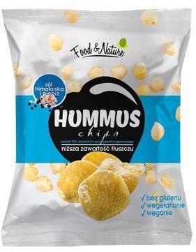 Chipsy bezglutenowe z ciecierzycy Sól&Pieprz 40 g Food&Nature