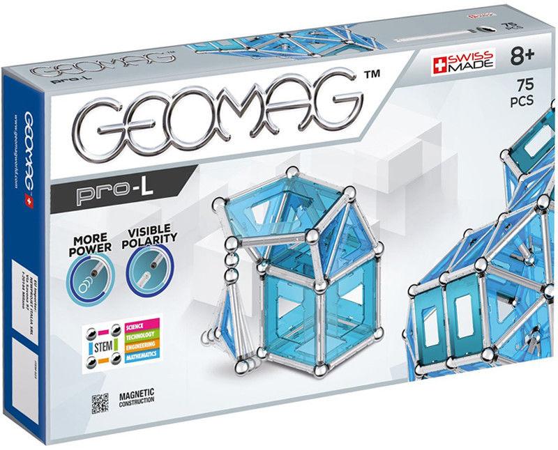 GeoMag - Klocki magnetyczne Pro-L 75 el. 023