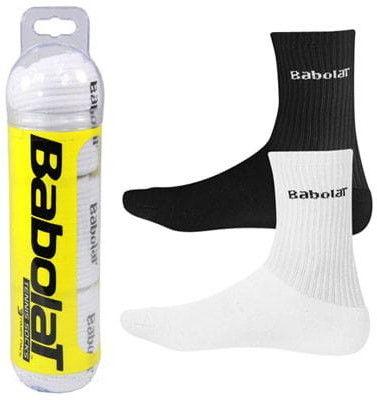 Babolat Tuba Socks 3pairs - white/black
