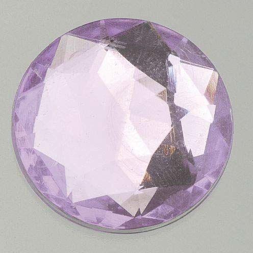 EFCO Dekoracyjny kamień akrylowy fasetowy zestaw okrągły ø 10/12 / 14/18 / 25 mm 30/10 / 10/1 / 1 szt. jasnoszary 20 x 10 x 2 cm