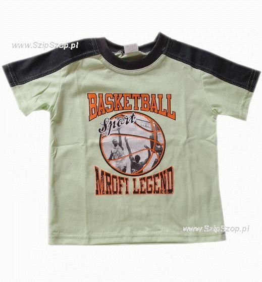 T-shirt dziecięcy Sporciak jasny zielony