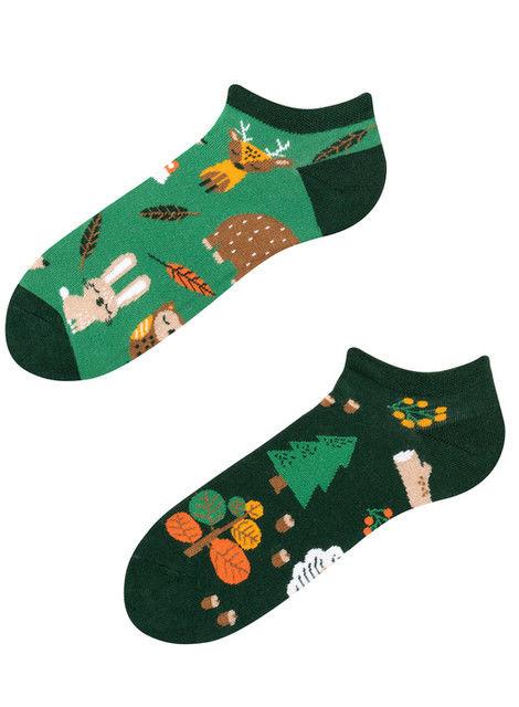 Stopki, Forest Animals Low, Todo Socks, Leśne Zwierzaki, Zwierzęta