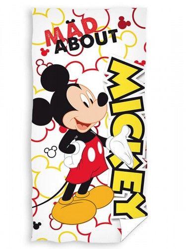 Ręcznik bawełniany 70x140 Myszka Mickey white