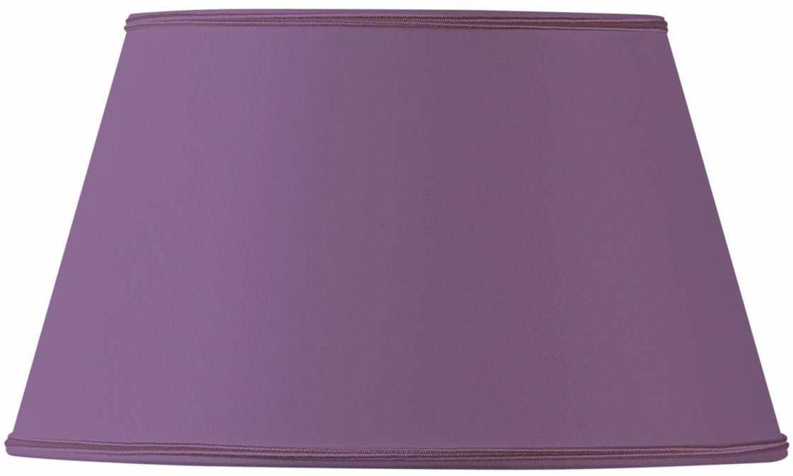 Klosz lampy do półwałów, 40 x 28 x 23 cm, fioletowy