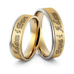 Obrączki ślubne dwukolorowe z imionami i emalią - Au-981