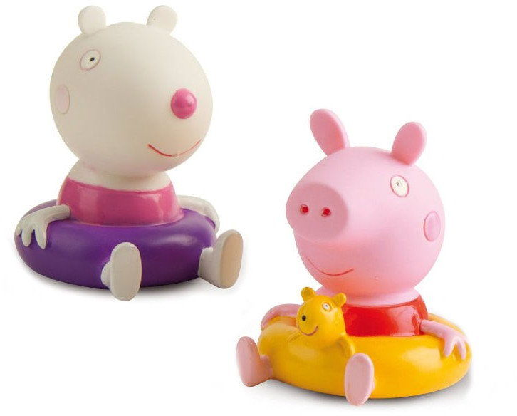 Świnka Peppa - Figurki do kąpieli Świnka Peppa i Suzy Sheep 360082