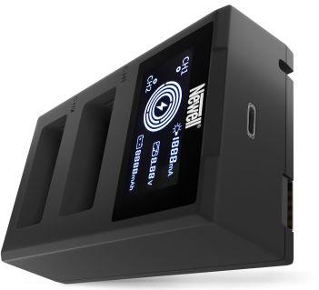 Ładowarka dwukanałowa Newell FDL-USB-C do akumulatorów LP-E17
