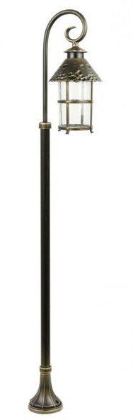 Lampa stojąca masztowa ozdobna TOLEDO K 5002/1/R mosiądz