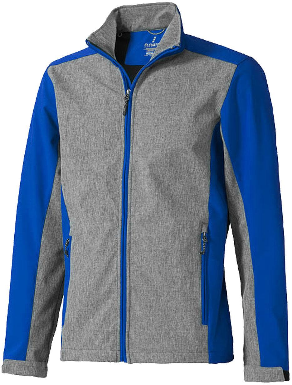 Softshell VESPER kurtka sportowa szary-niebieski Rozmiar: XS,vsp0bl-1