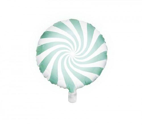 Balon foliowy Candy - Cukierek, miętowy
