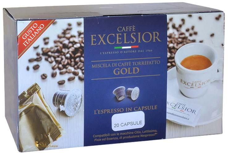 Excelsior Gold Nespresso 20 kapsułek