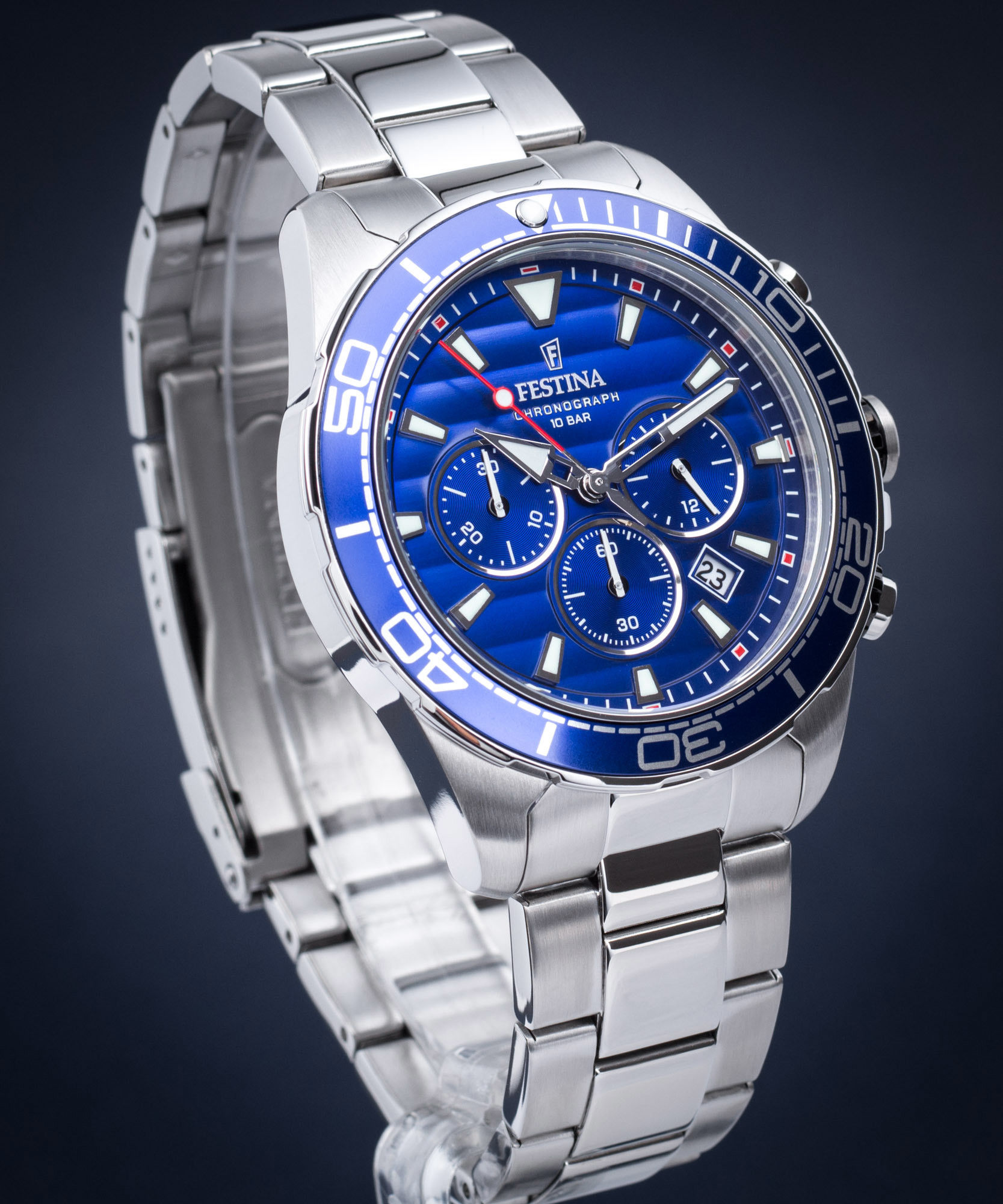 Zegarek Festina F20361-2 Prestige Chronograph - CENA DO NEGOCJACJI - DOSTAWA DHL GRATIS, KUPUJ BEZ RYZYKA - 100 dni na zwrot, możliwość wygrawerowania dowolnego tekstu.