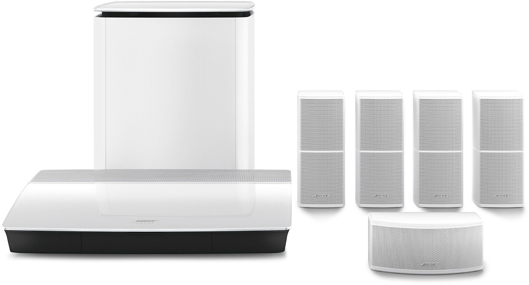 Bose Lifestyle 600 Biały Raty 0% - Zadzwoń Po Najniższą Cenę!