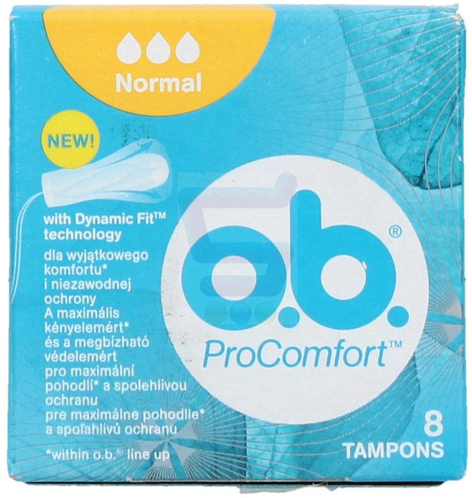 o.b.Tampony ProComfort Normal 8szt
