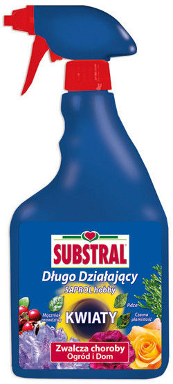 Środek grzybobójczy Substral Saprol Hobby RTU 750 ml
