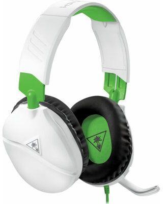 Słuchawki dla graczy Turtle Beach Recon 70x Białe do Xbox One, Xbox Series X, PS5, PS4, Switch, PC