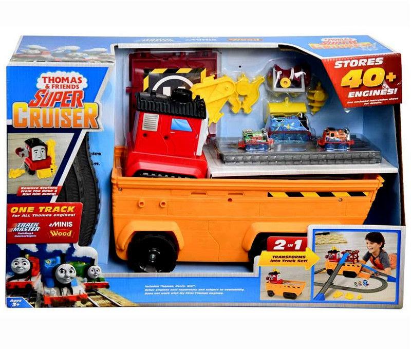 Fisher Price Tomek i Przyjaciele - Super Transporter i Stefano GDV38