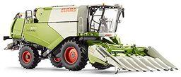 WIKING 7818 - Claas Tucano 570 kombajn zbożowy z przystawką kukurydzy Conspeed 8-75, pojazdy