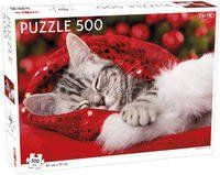 Puzzle Christmas Kitten 500 - Tactic