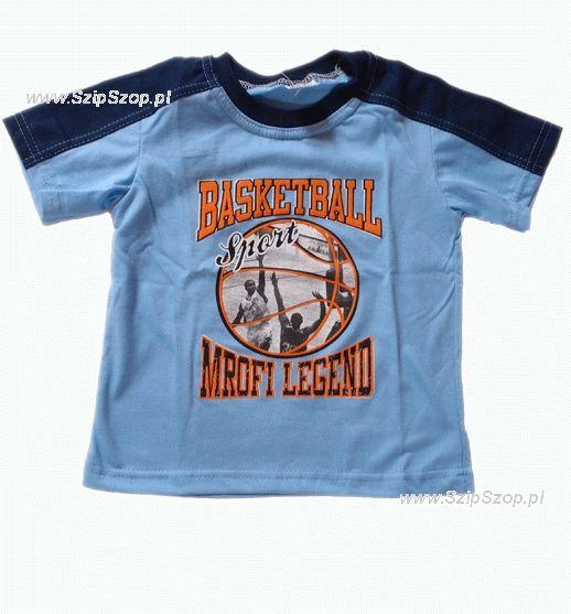 T-shirt dziecięcy Sporciak niebieski