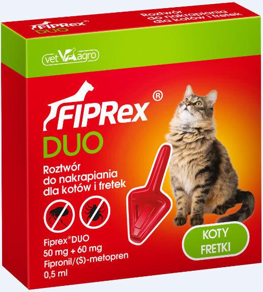 Fiprex Duo DLA KOTÓW i FRETEK
