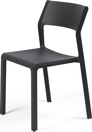 Krzesło ogrodowe trill bistrot antracytowe