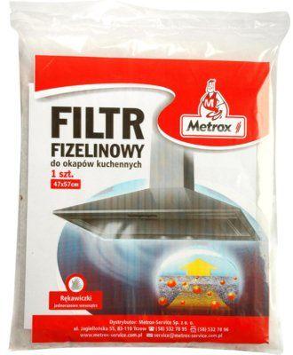 Filtr METROX Filtr fizelinowy. Kup taniej o 40 zł w Klubie